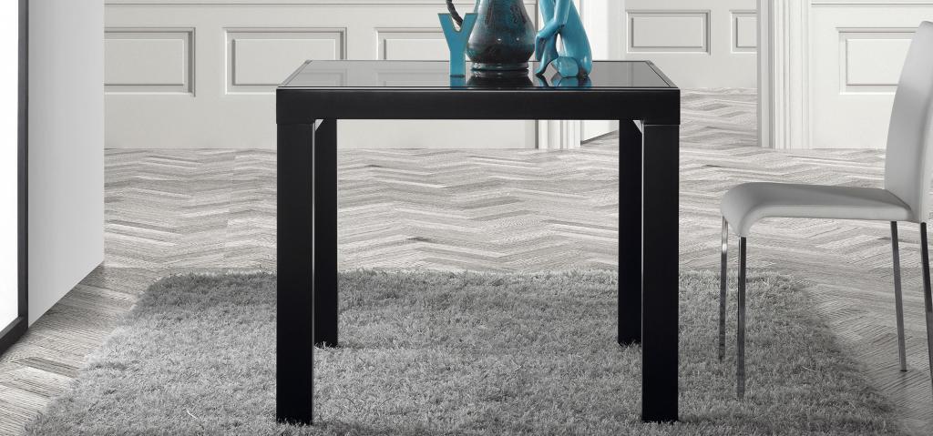 Tafel Uitschuifbaar Wit.Laforma Eettafel Norfolk Uitschuifbaar Wit Glas 90 180 X 65 X 74 La Forma